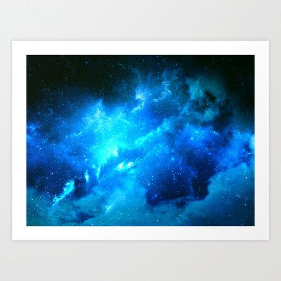 Lost Nebula Art Print