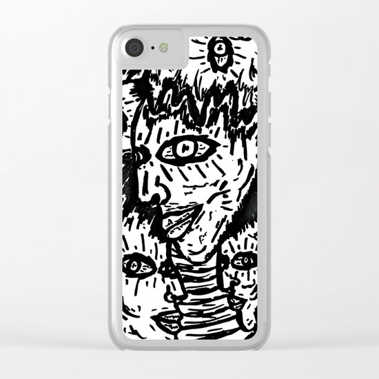 Heads of Chaos Clear iPhone Case