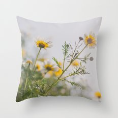 Under the light Throw Pillow