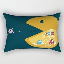 Indoor Games Rectangular Pillow