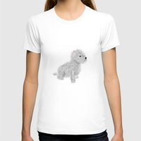 westie T-shirts featuring westie by oslacrimale