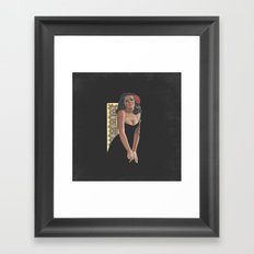 Pinup 4 Framed Art Print