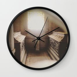Mausoleum Glow Wall Clock