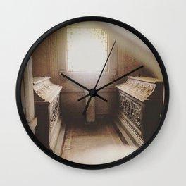 Mausoleum Glow Wall Clock