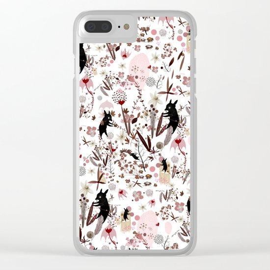 crafty souls Clear iPhone Case