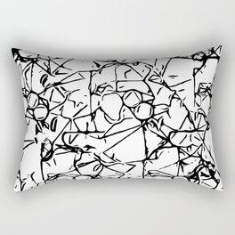 Graphic B3 Rectangular Pillow