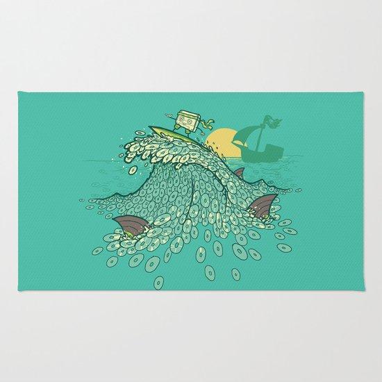 Surfin' Soundwaves Rug