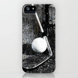 The golf club iPhone Case