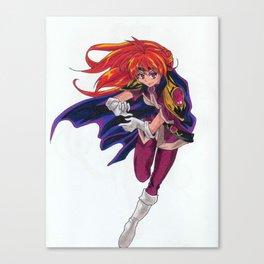 Lina Inverse Canvas Print
