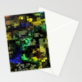 Funny Mix of Shapes 1A Stationery Cards