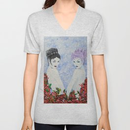 Spirits of Winter 3 Unisex V-Neck