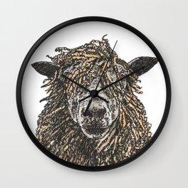 Cotswold Sheep Wall Clock