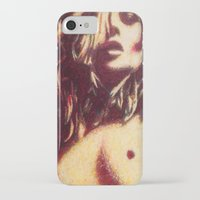 kate moss iPhone & iPod Cases featuring Kate Moss  by Andrew Spangler