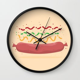 Hat Dag! Wall Clock