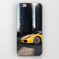 lamborghini iPhone & iPod Skins featuring Lamborghini by Speed-Photos