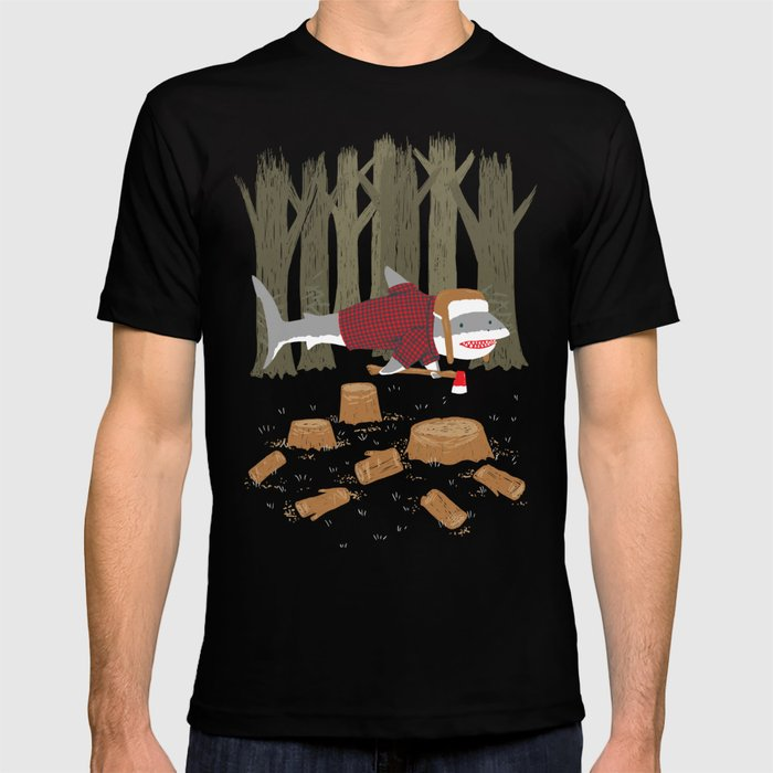 LumberJack Shark T-shirt