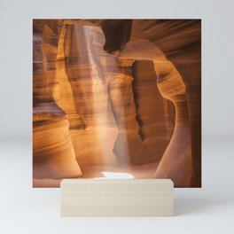 ANTELOPE CANYON Gorgeous Lightbeam Mini Art Print