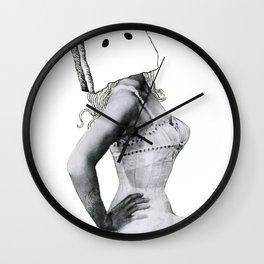 """Girls be like...#nofilter #nomakeup doe"" Wall Clock"