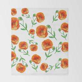 Poppies Magic Throw Blanket