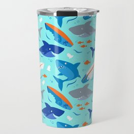 Shark Attack Travel Mug