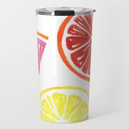 Citrus Wheels Travel Mug