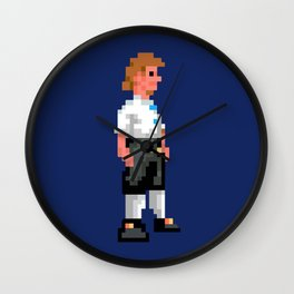 """I wanna be a pirate!"" Wall Clock"