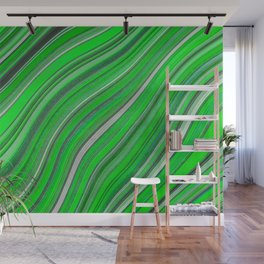 Wild Wavy Lines 33 Wall Mural