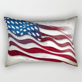 Old Glory...long may she wave Rectangular Pillow