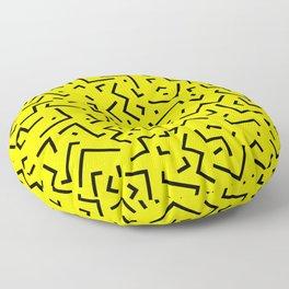 Memphis pattern 35 Floor Pillow