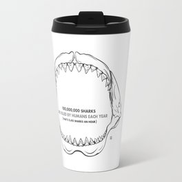 Bite Me Jaws Travel Mug