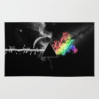 floyd Area & Throw Rugs featuring Pink Floyd by Akamsa