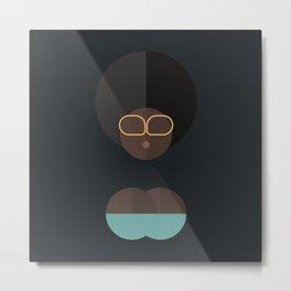 BLACK MAGIC WOMEN / Assireni Metal Print
