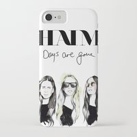 haim iPhone & iPod Cases featuring Haim Days are gone by Mariam Tronchoni