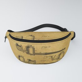 Tobacco Pipe Patent 3 Fanny Pack