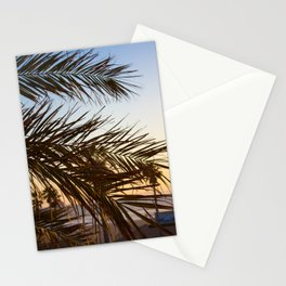 Summer Feels with Palms Stationery Cards