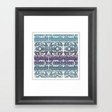 Mirror of Style Framed Art Print
