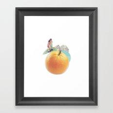 /disc/overy. Framed Art Print