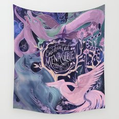 Enchanted Menagerie Wall Tapestry