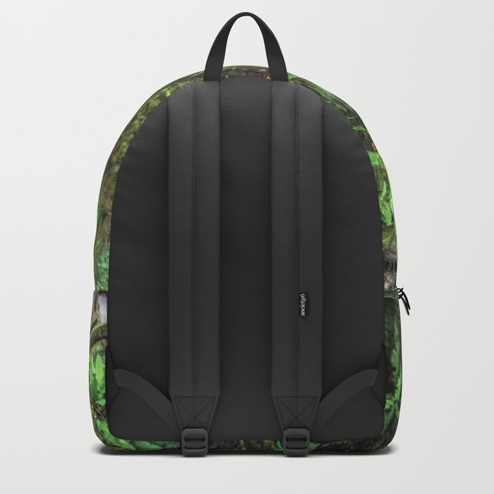 Autumn waterfall Backpack