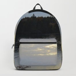 Downeast Autumn Reflections of Scattered Illuminations Backpack