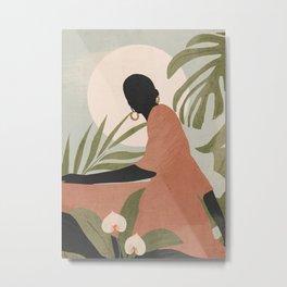 Tropical Girl 21 Metal Print