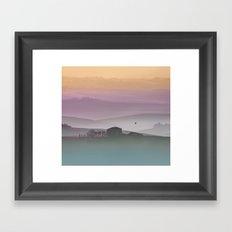 Tuscan Sunrise Framed Art Print