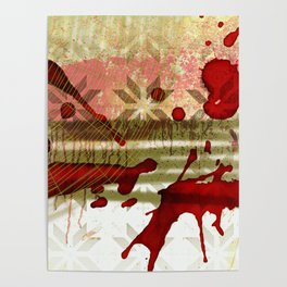 Halloween Abstract Poster