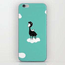 Flying Alpaca by Amanda Jones iPhone Skin