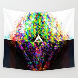 Split Chaotic Wall Tapestry