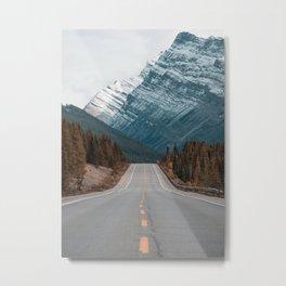 Road to the Mountain Metal Print