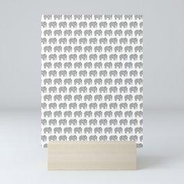 Ampersand Elephant Mini Art Print