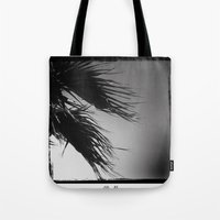 palm Tote Bags featuring palm* by spysessionz