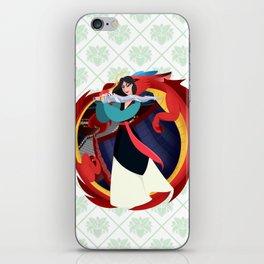 Mulan iPhone Skin
