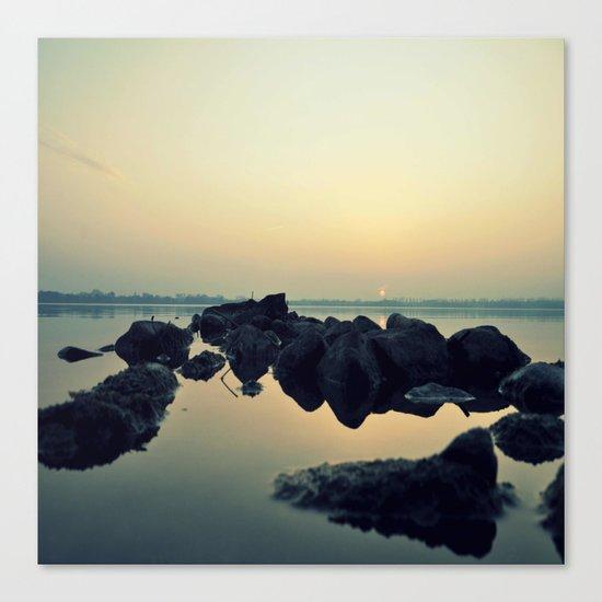 calm # Canvas Print